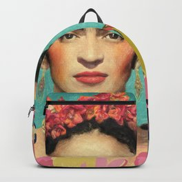 Frida Kahlo V Backpack