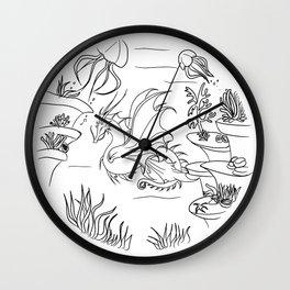 Undersea Wall Clock