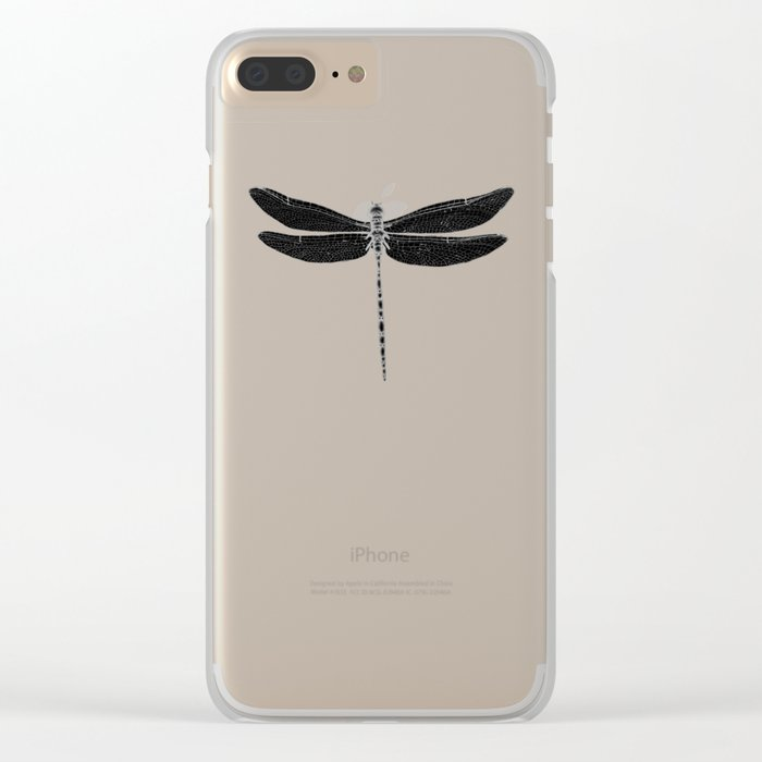 Night Flyer Clear iPhone Case