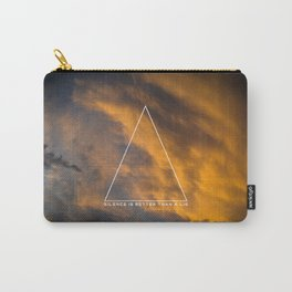 Silence is better than a lie Carry-All Pouch