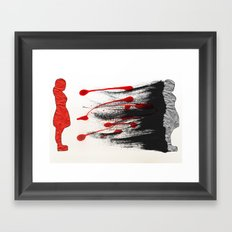 I Was There Framed Art Print