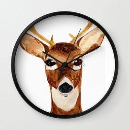 Like a Deer Wall Clock
