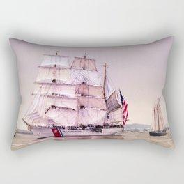 Tall Ships in Boston -USCG Rectangular Pillow