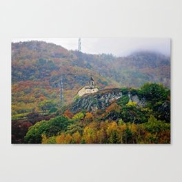 Alpine Church Canvas Print