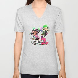 Splatoon 2 Unisex V-Neck