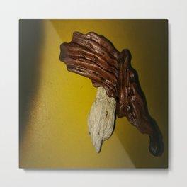 "Bijoux Makooloka ""l'envolée du cheval rouge"" Metal Print"