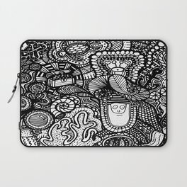 Under the Sea Doodle Laptop Sleeve
