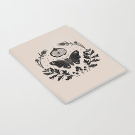 Moth, Mugwort & Mushrooms Notebook