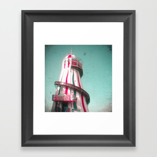 Helter Skelter Framed Art Print