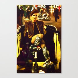 Transvestite, London Soho Canvas Print