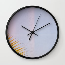 Light Leak III Wall Clock