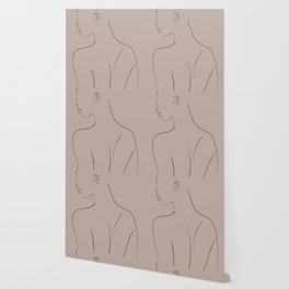 One Line Wallpaper For Any Decor Style Society6