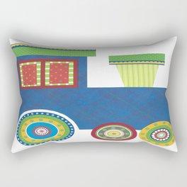 Kids Train Engine Rectangular Pillow