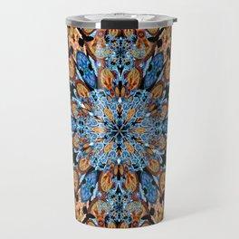 Shamanic Jungle Mandala Travel Mug