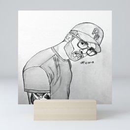 Chris Webby by Double R Mini Art Print