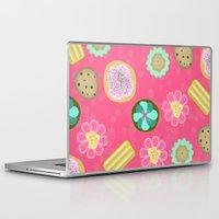 cookies Laptop & iPad Skins featuring Cookies by Party Peeps