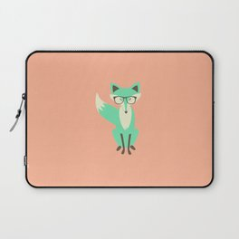 Hipster Fox Laptop Sleeve