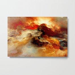 Cloud of Colors Metal Print