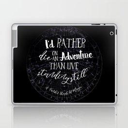 Lila Bard - Die On An Adventure Laptop & iPad Skin