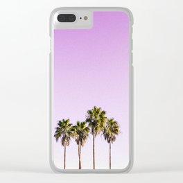 mr purple skys Clear iPhone Case