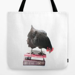 Learned Chicken Tote Bag