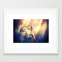 celestial Framed Art Prints featuring Celestial by DeeDee