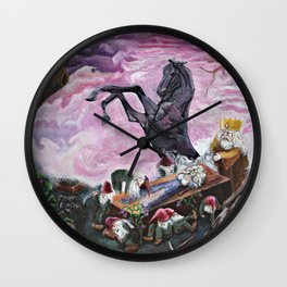 Sleeping beauty Snow white Fairy Tales Wall Clock