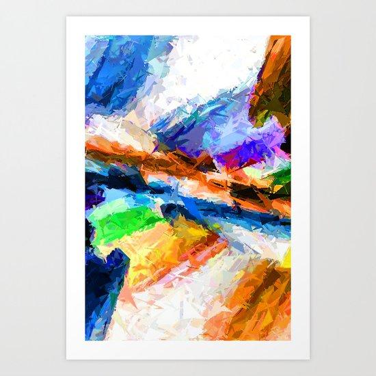 Boulevard of Broken Dreams  Art Print