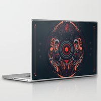 samurai Laptop & iPad Skins featuring Samurai by Defeat Studio