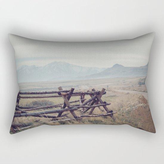 Antelope Island Rectangular Pillow