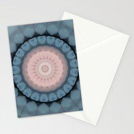 Pallid Pink Base Mandala Stationery Cards