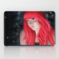 fireflies iPad Cases featuring Fireflies by GrazilDesign