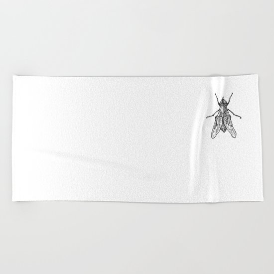 Fly Beach Towel