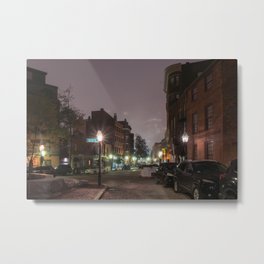 North End Metal Print