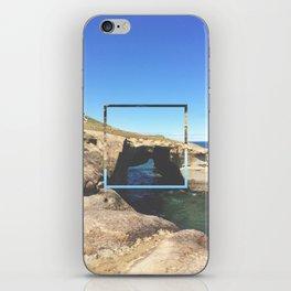 Tunnel Beach - colour iPhone Skin