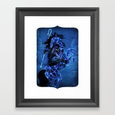 Conficker Framed Art Print