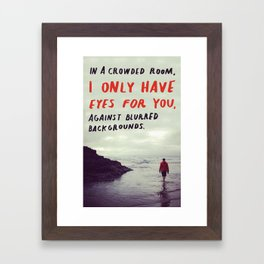 haiku #128 Framed Art Print