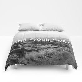 FIND YOUR WILD II Comforters