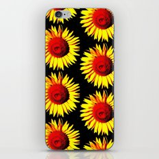 Sunflower group iPhone & iPod Skin