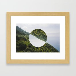 Changing perspective Framed Art Print