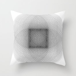 Cercle,Cube,Cross Throw Pillow