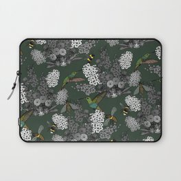 Hummingbirds and Bees (don't let them fade away) Laptop Sleeve