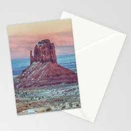 MONUMENT VALLEY AT SUNSET Stationery Cards