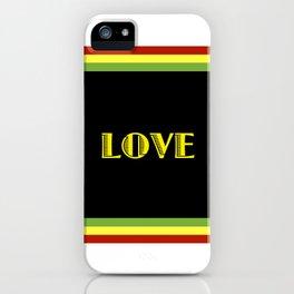 Jah Love iPhone Case