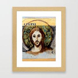 C is for Christ Framed Art Print