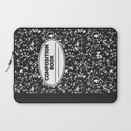 Composition Notebook College School Student Geek Nerd Laptop Sleeve