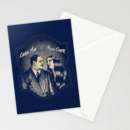 Gomez & Morticia Addams Stationery Cards