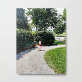 Park walk Metal Print