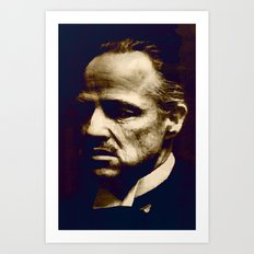 Godfather - I will make him an offer he can't refuse Art Print