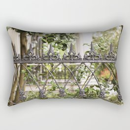 New Orleans Lush Garden Rectangular Pillow